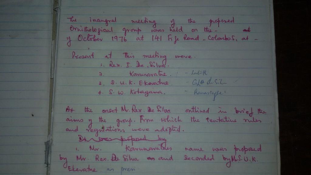FOGSL Proposed Minutes