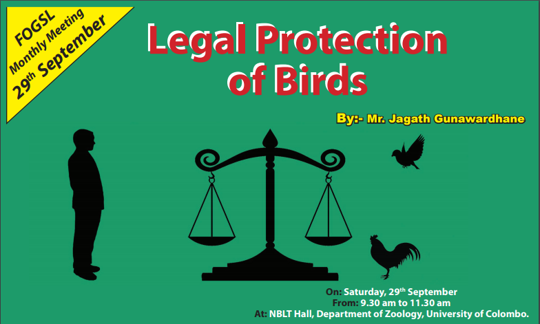 Legal Protection of birds